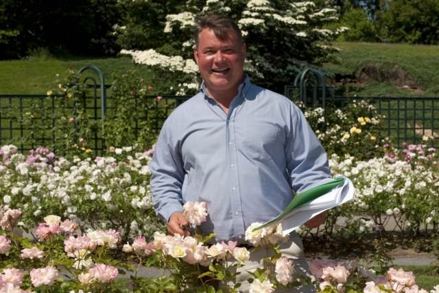 Peter Kukielski, author of Roses Without Chemicals