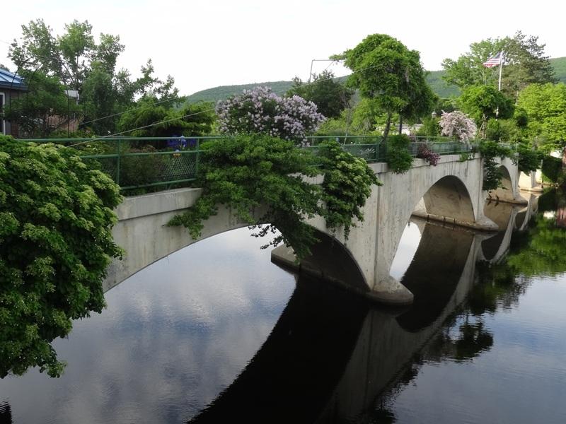 Bridge of Flowers, Shelburne Falls, Mass.