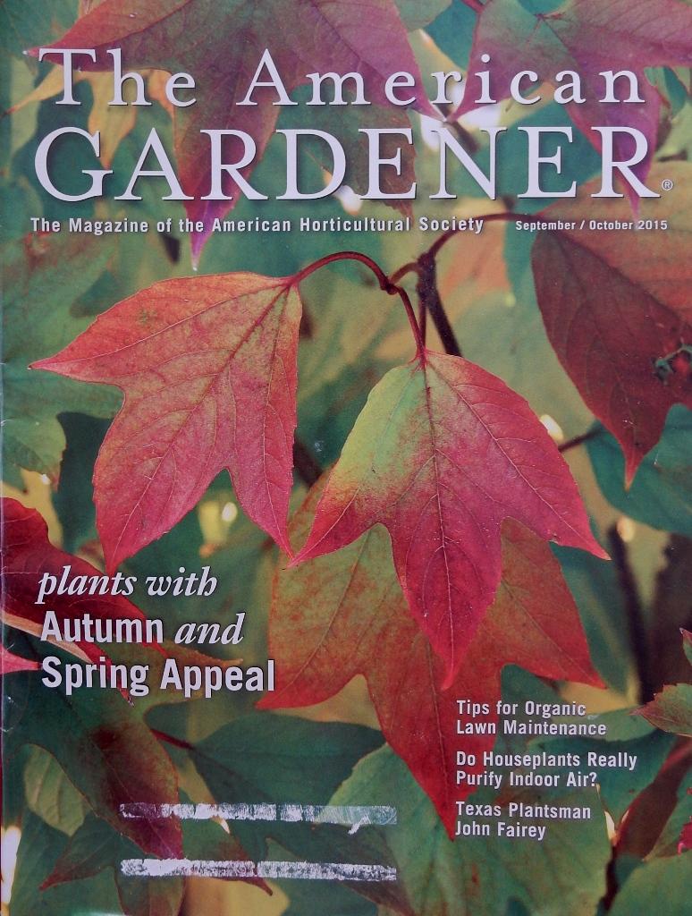 The American Gardener Magazine