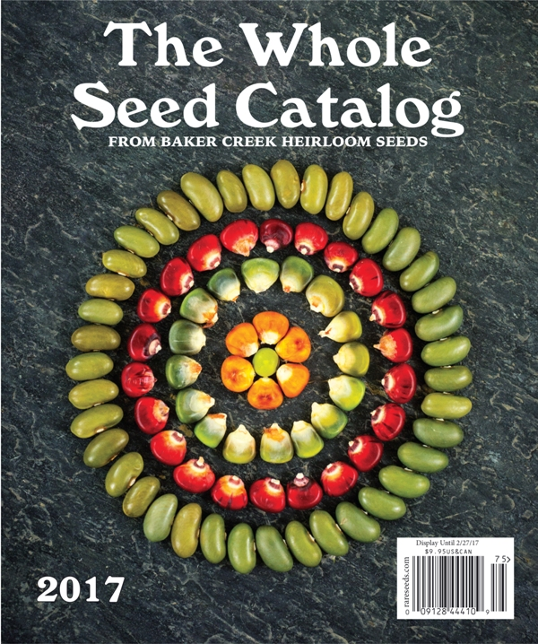 Complete Baker Creek Heirloom Seed Catalog $9.95