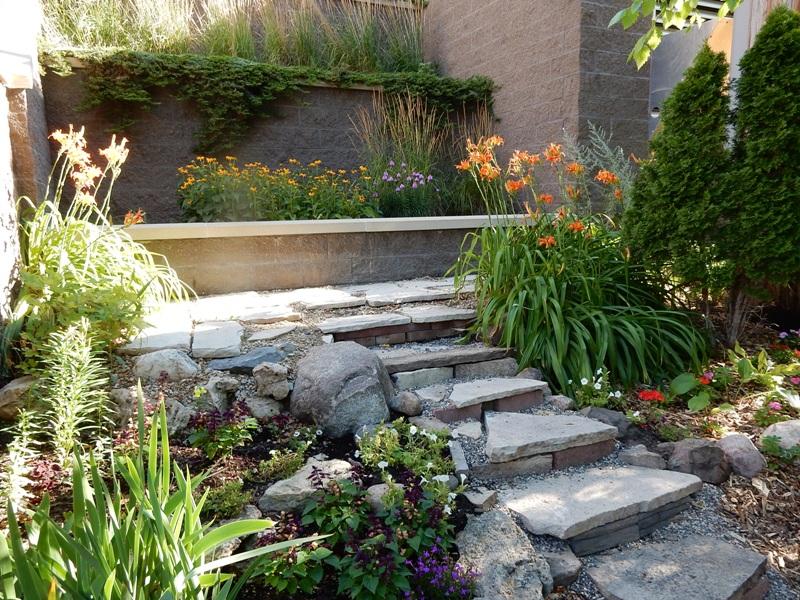 Stone Steps at Vera's Garden