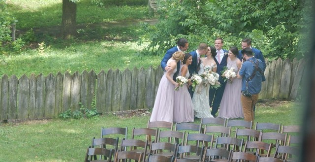 More photos - with the Bridal Party