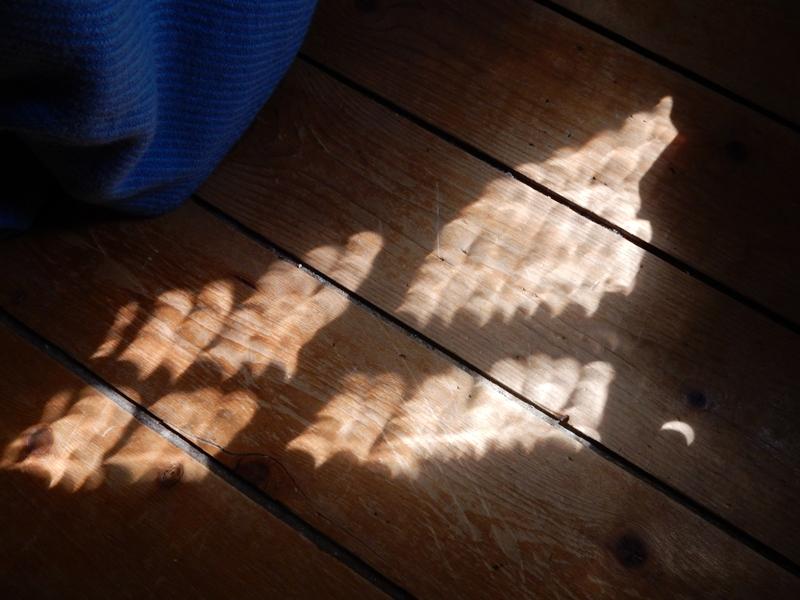 Venetian blind eclipses