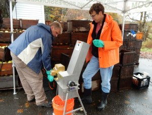 Oesco demonstration at Cider Days