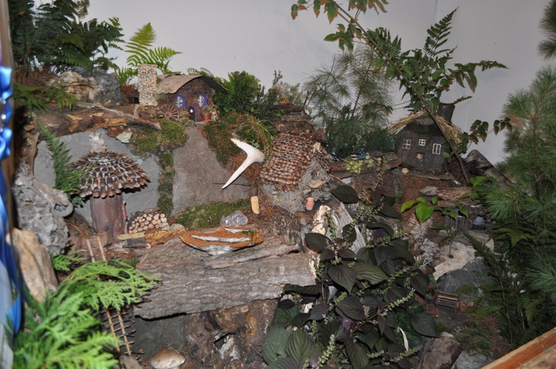 Greenfield Garden Club Fairy House Exhibit