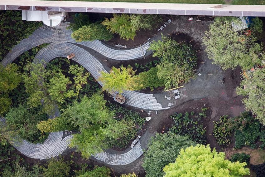 Path at Monk's Garden