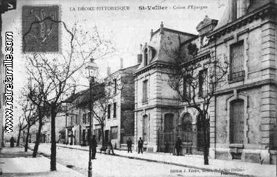 Photos Et Cartes Postales Anciennes De Saint Vallier 26240