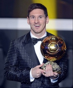 Golden Ball: Stars like Messi are working your emotions