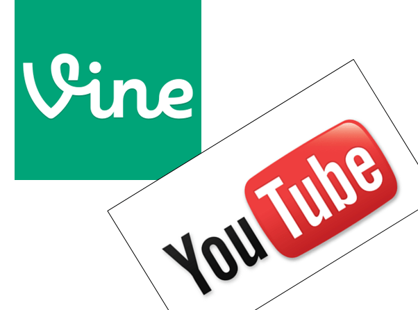 Video en socialmedia: Vine en Youtube