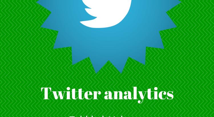 Twitter analytics Volgers