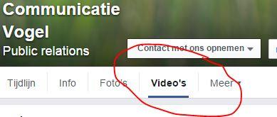 Facebook video uploaden