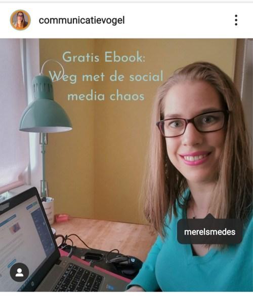 Instagram mensen taggen