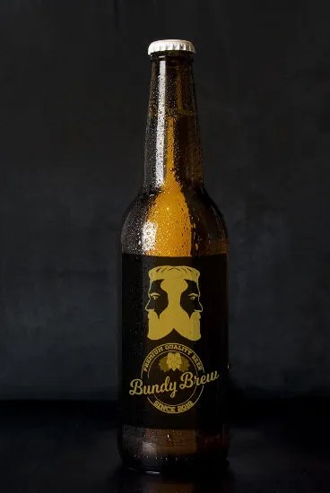 Bottle of Bundy Brew