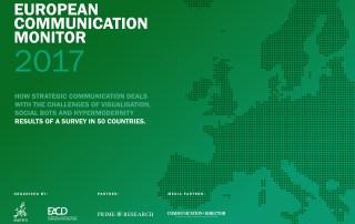 ECM European Communication Monitor Report 2017 Strategic Communication Visualisation Social Bots Automation Hypermodernity Strategic Communication