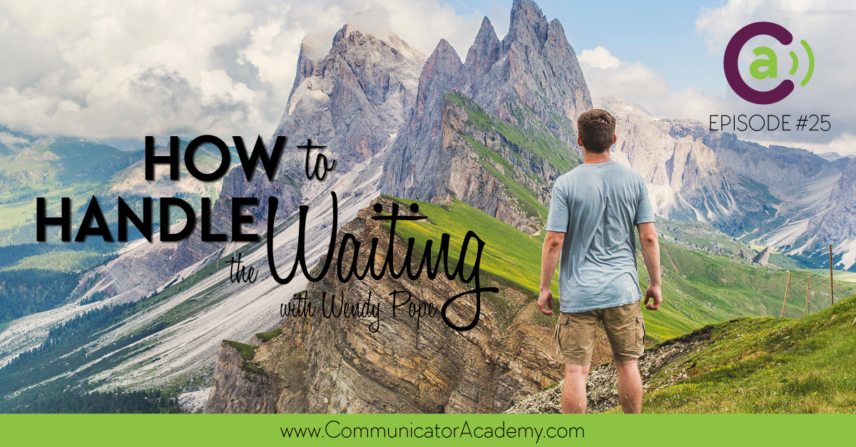 Podcast Episode 25: How to Handle the Waiting
