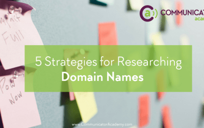 5 Strategies for Researching Domain Names