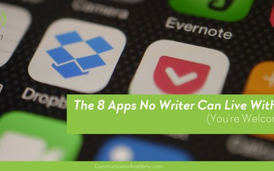 Eps. #97: The 8 Apps No Writer Can Live Without (You're Welcome…)