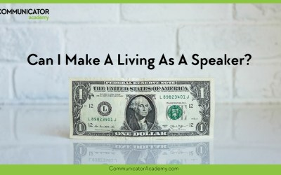 Can I Make a Living as a Speaker?