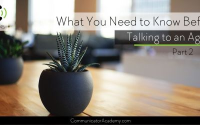 145 What you need to know before talking to an agent Janet Grant and Wendy Lawton Part 2