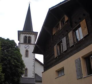 Nouvelle mission à Arbaz - Valais dès 2010 (Cure et église)