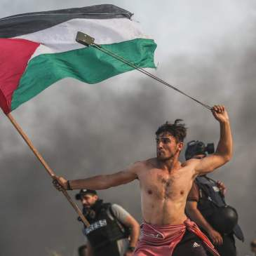 Communists around the world call for solidarity with the people of Palestine.