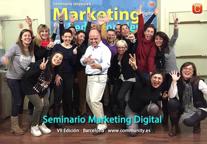 Seminario Marketing Digital VII Edicion Barcelona Enrique San Juan con Grupo 720