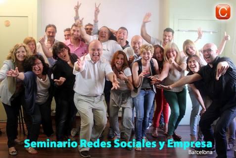 Seminario Redes Sociales y Empresa de Barcelona 2013 community internet the social media company community management