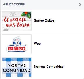 aplicaciones facebook bimbo espana community internet