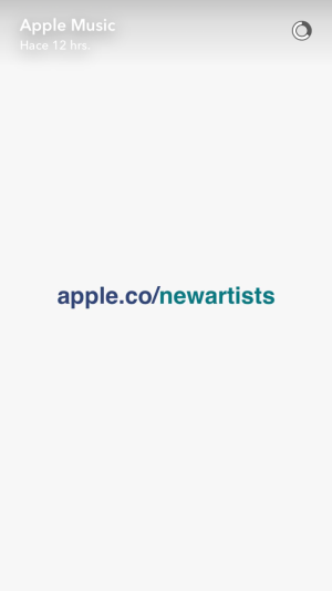 apple music snapchat analisis community internet 12