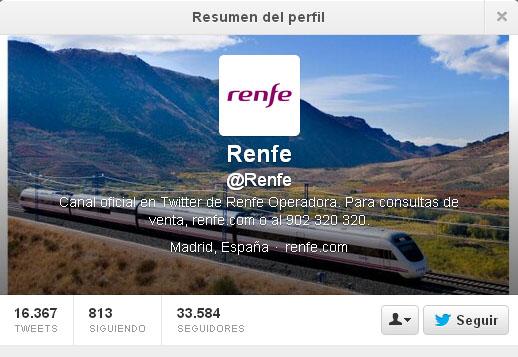 como ha gestionado Renfe la crisis del accidente de Santiago en Twitter community internet redes sociales social media
