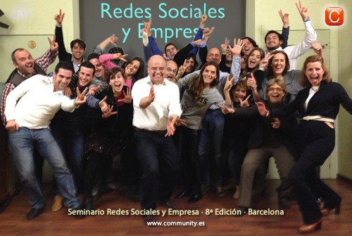 seminario redes sociales y empresa chile barcelona community internet the social media company