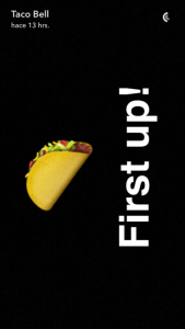 taco bell snapchat analisis community internet 07