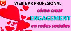 webinar profesional como crear engagement community internet redes sociales social media