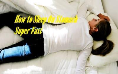 How To Sleep On Stomach