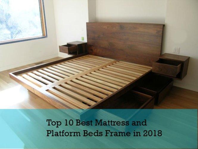 Top 10 Best Mattress For Platform Beds Frame
