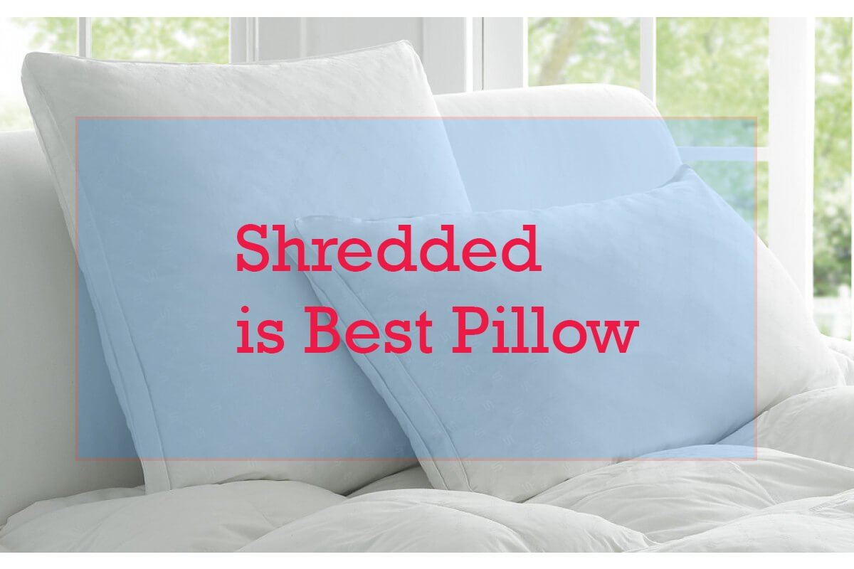 Top 14 Best Shredded Memory Foam Pillow