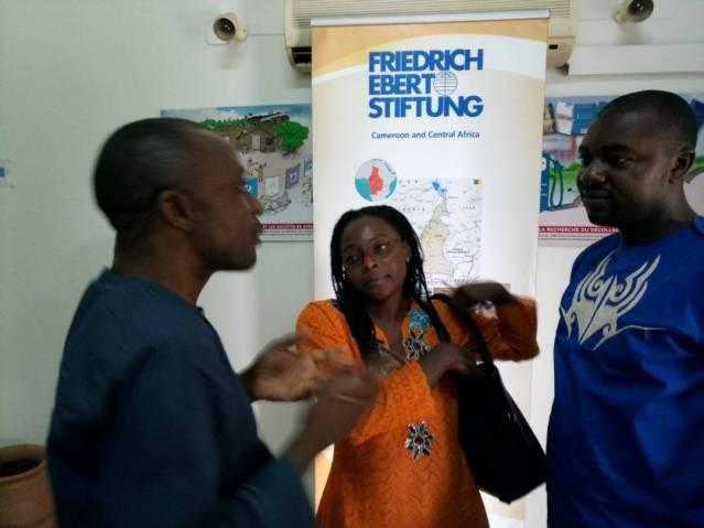 Participants discuss