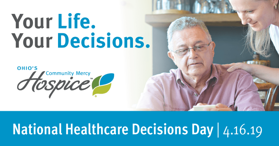Ohio's Community Mercy Hospice Joins In National Healthcare Decisions Week Effort