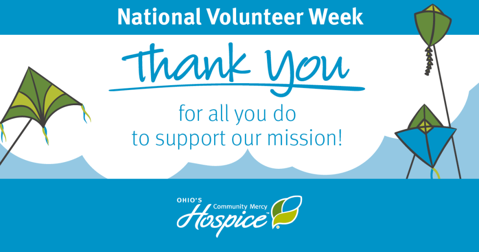 Ohio's Community Mercy Hospice Recognizes Volunteers During National Volunteer Week