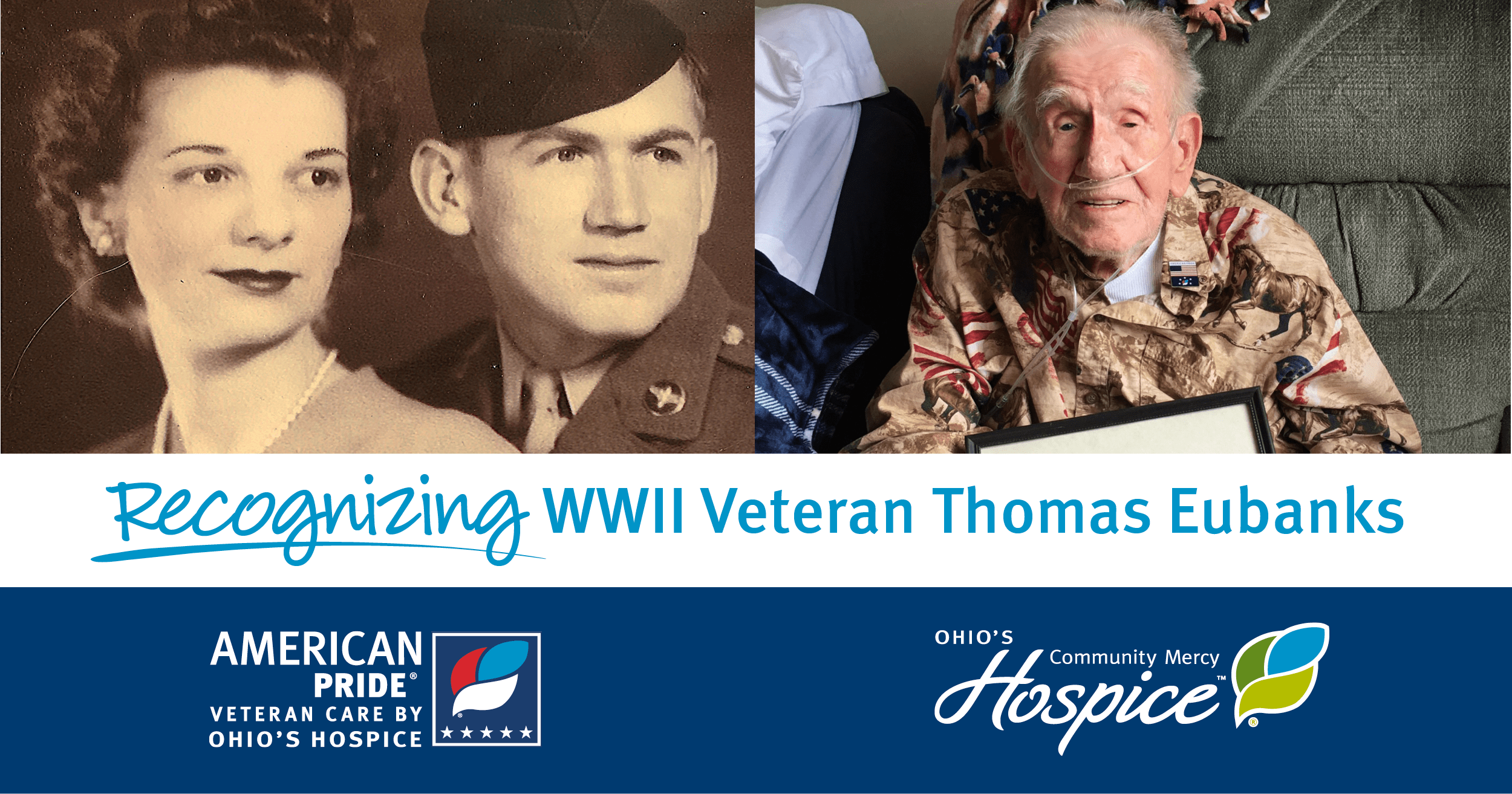Recognizing WWII Veteran Thomas Eubanks