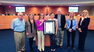 Town council recognizes 'Read Conmigo' program