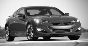 2013 Hyundai Genesis Coupe is re-designed and given more porwer