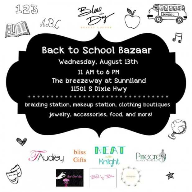 Back to School Bazaar Pinecrest