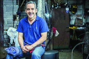 Santiago Medina is a Master Sculptor, but he is also a great doctor