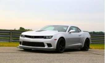 Camaro was refreshed last year with a slimmer grille and a larger, lower fascia.
