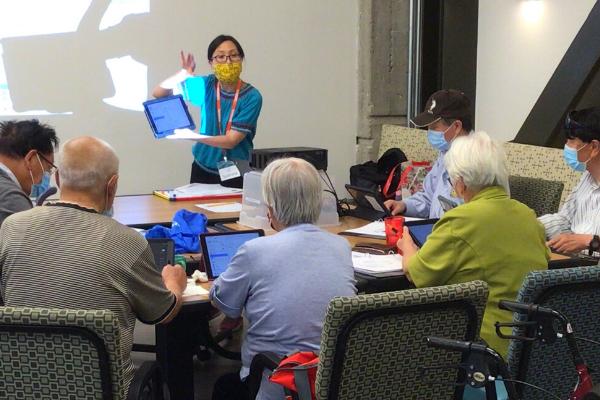 Sabrina Tam teaches CEI senior learners
