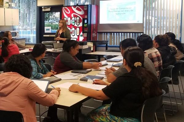 Sunnyvale Parents Enjoy New Digital Literacy Program