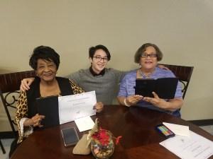 Oak Springs resident graduates
