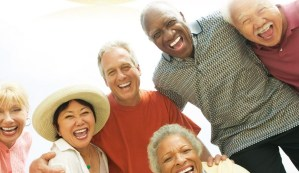 Group of older Americans