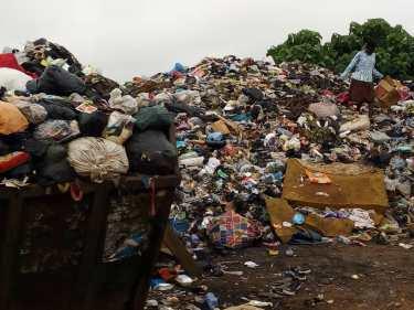 Image of Sepe-Buokrom dumpsite in Ghana
